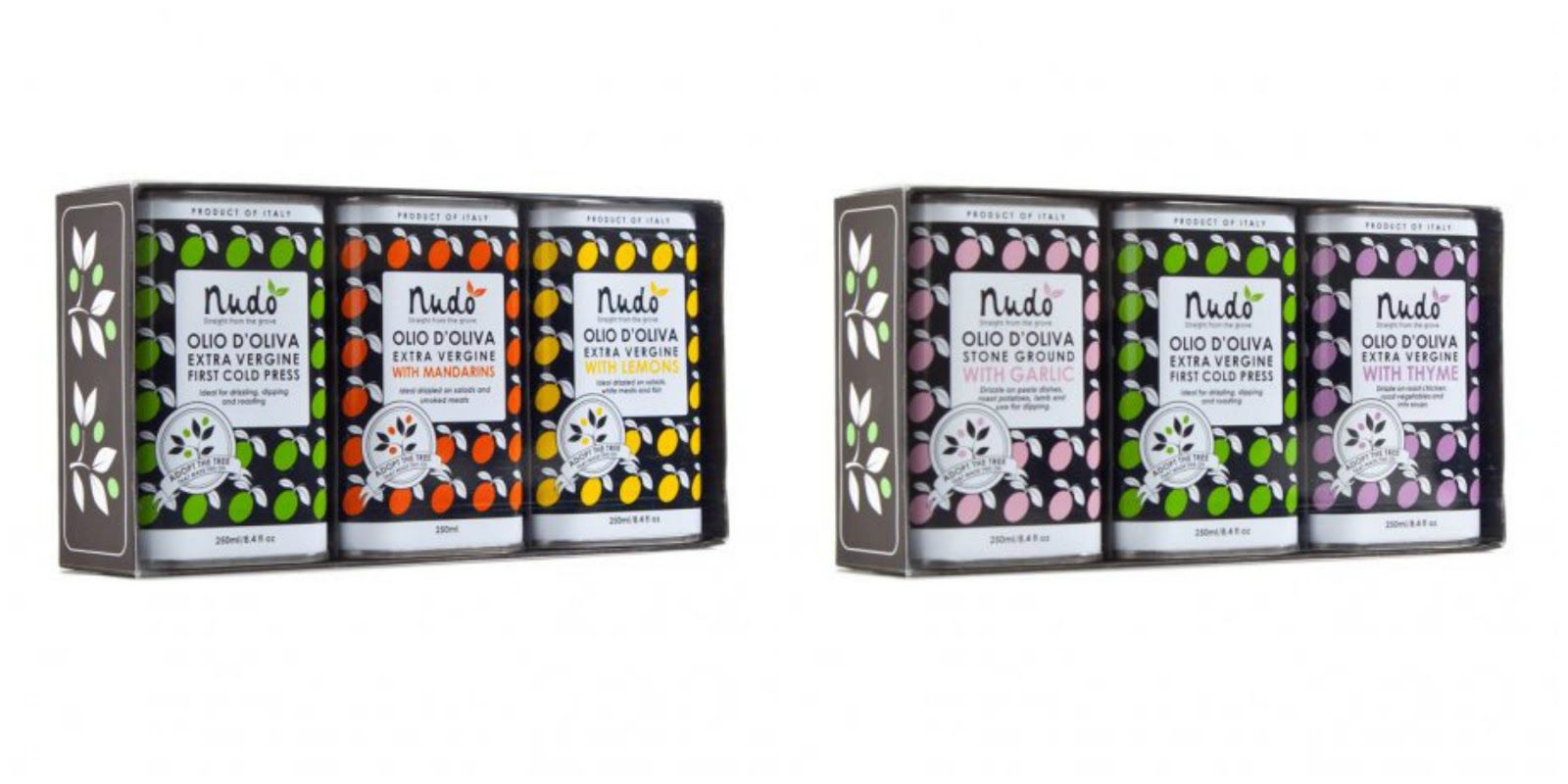 Extra vergine olive oil 'Citrus Club Gift Box' & 'The Emperor's Herbs Gift Box' byNudo.  http://t-h-i-n-g-s.blogspot.com