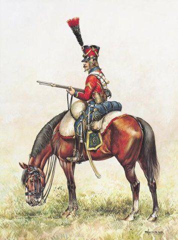 SOLDIERS- Conrad: 02 Trompette du 9e Bis des Hussards 1812 - Conrad Pierre…