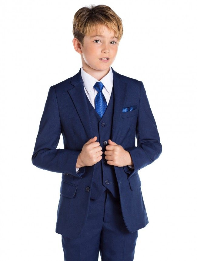 f2a53d70f3e Boys blue wedding suit - Kingsman | Graduation Transformation ...