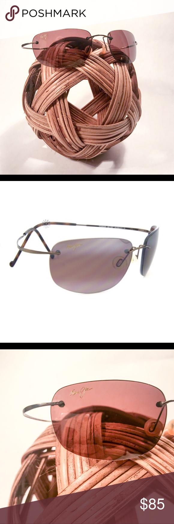 ac2caf067304 MAUI JIM KAPALUA Sport Titanium Sunglasses 502-23 Authentic Maui Jim  Sunglasses Ultra-lightweight