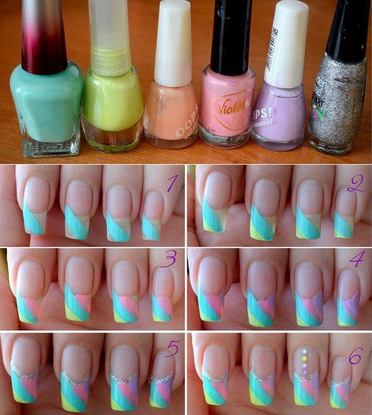 Cool Nail Art: Cool Pastel ... Nail Art Design Tutorial