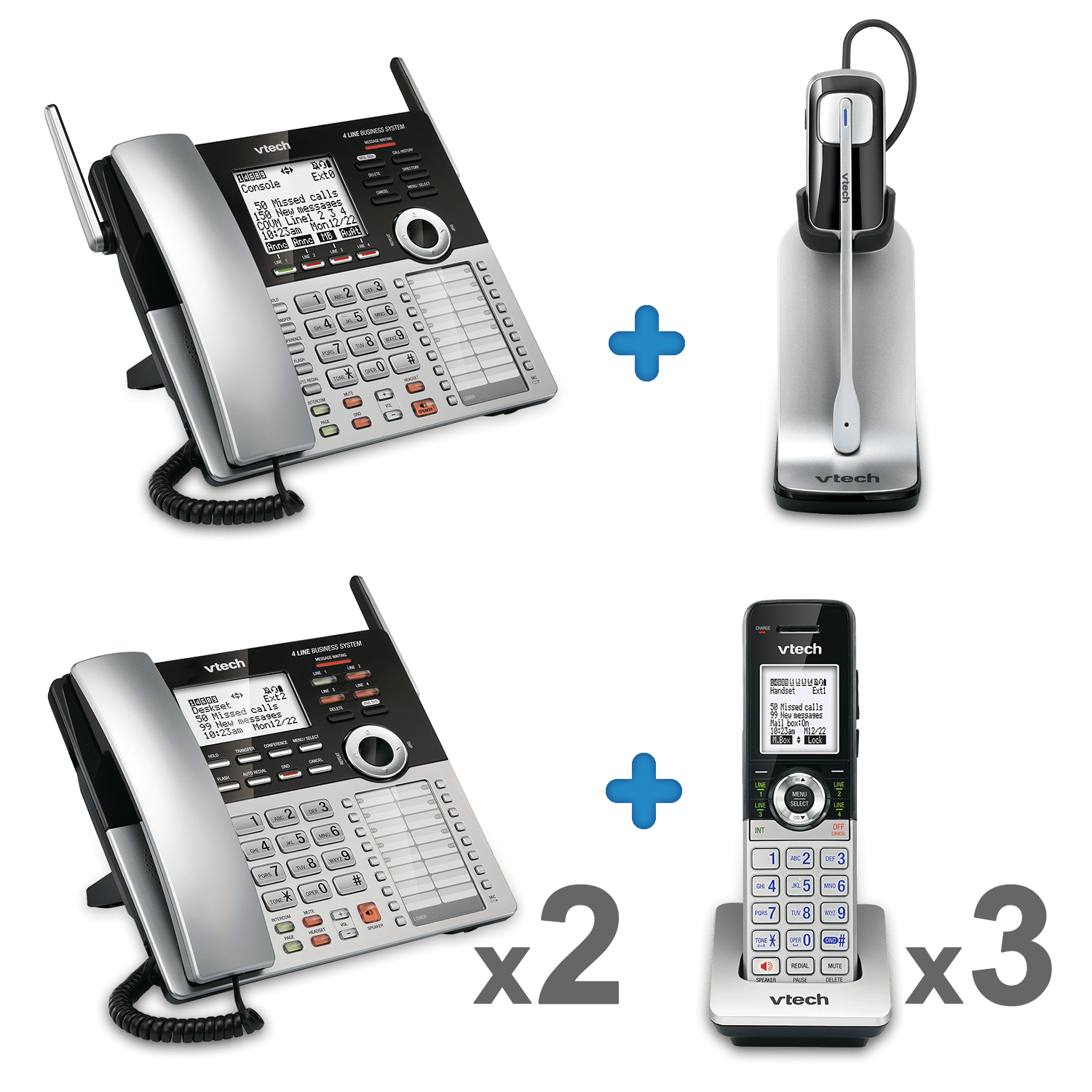 line small business phone system vtech multi line Fashion