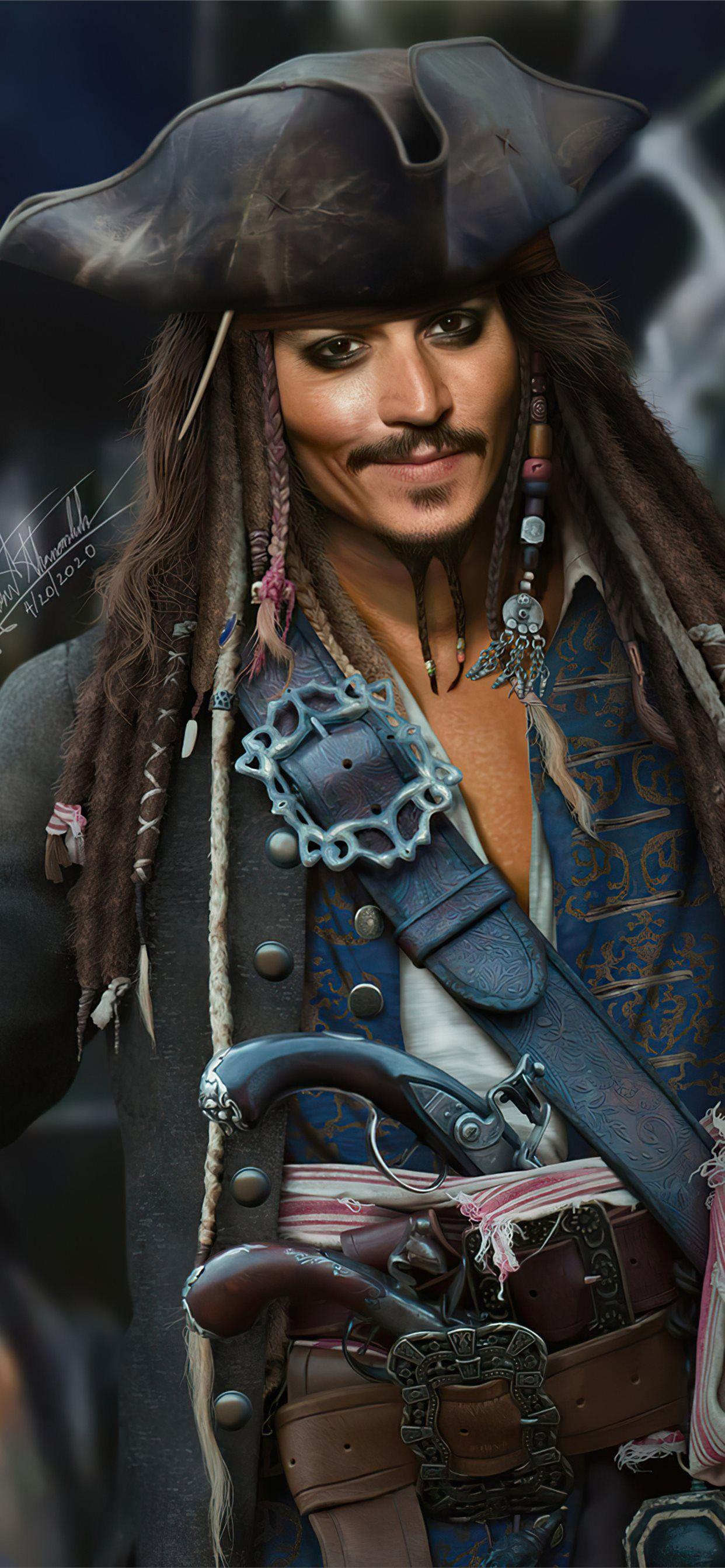 Jack Sparrow Fanart 4k Iphone X Wallpapers Free Download Jack Sparrow Wallpaper Jack Sparrow Jack Sparrow Tattoos