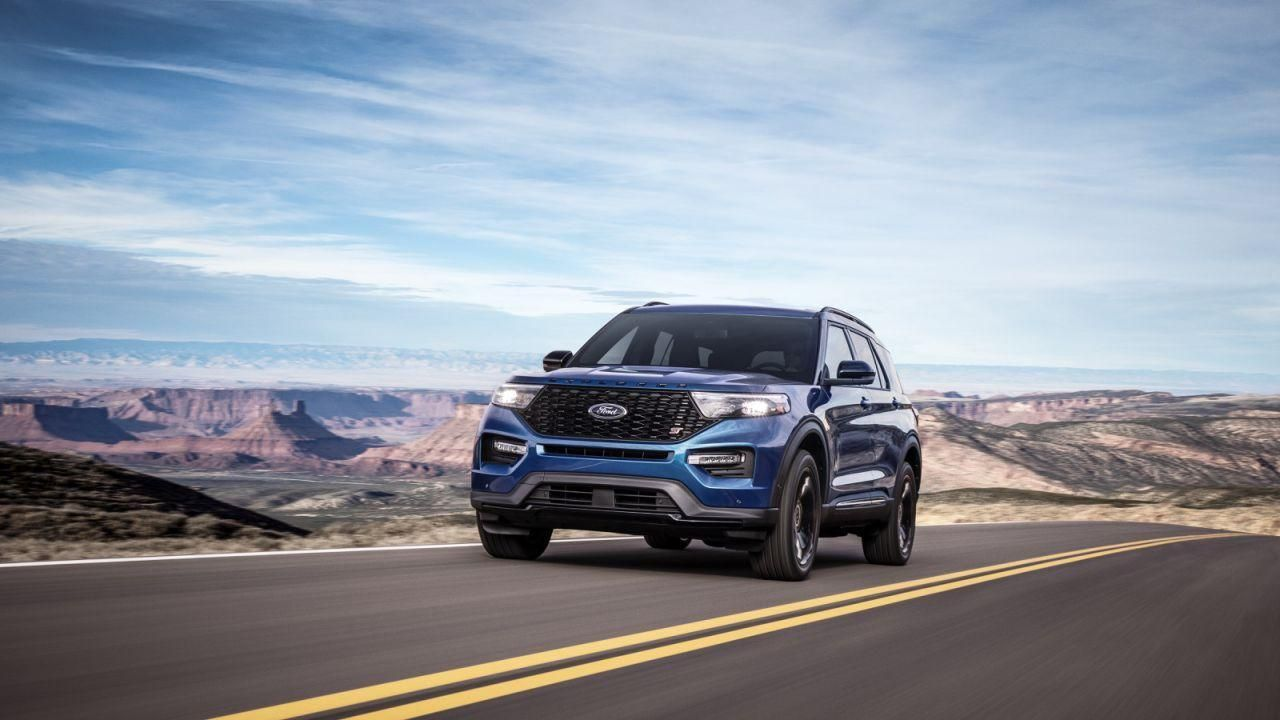 We Designed It To Be An St From The Beginning Said Ed Krenz Ford Performance Chief Functional Engineer There S No M Ford Explorer 2020 Ford Explorer Ford