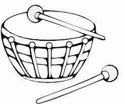 Resultado De Imagen Para Dibujo De Tambora Instrumentos De Percusion Musica Preescolar Instrumentos Musicales