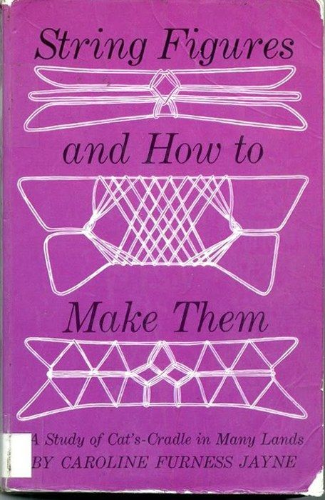 String Figures and How to Make Them (A Study of Cat's Cradle in Many Lands) by Caroline Furness Jayne, 1962 (here)