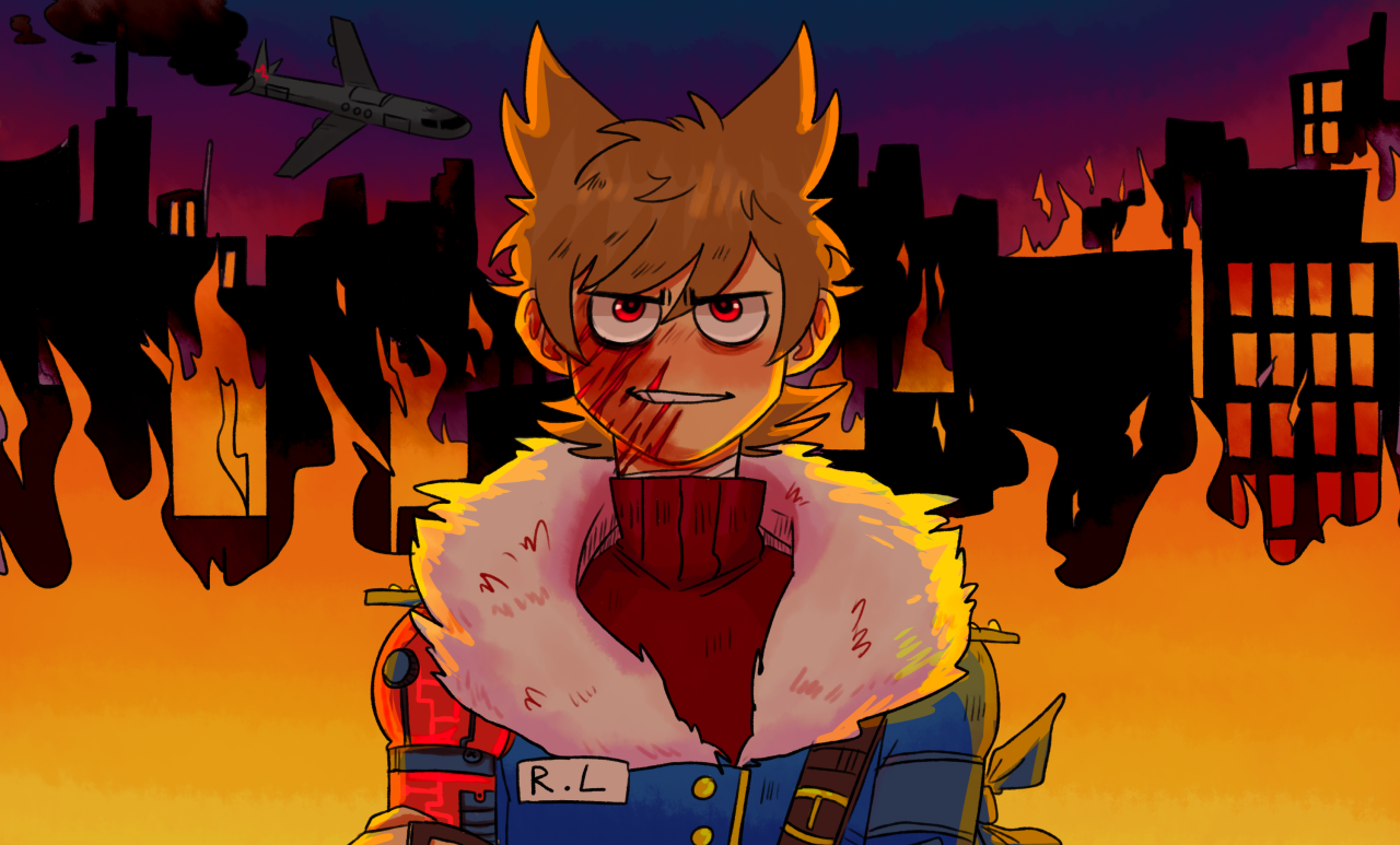 there's a tord in my paultryk : Photo | Eddsworld things | Eddsworld