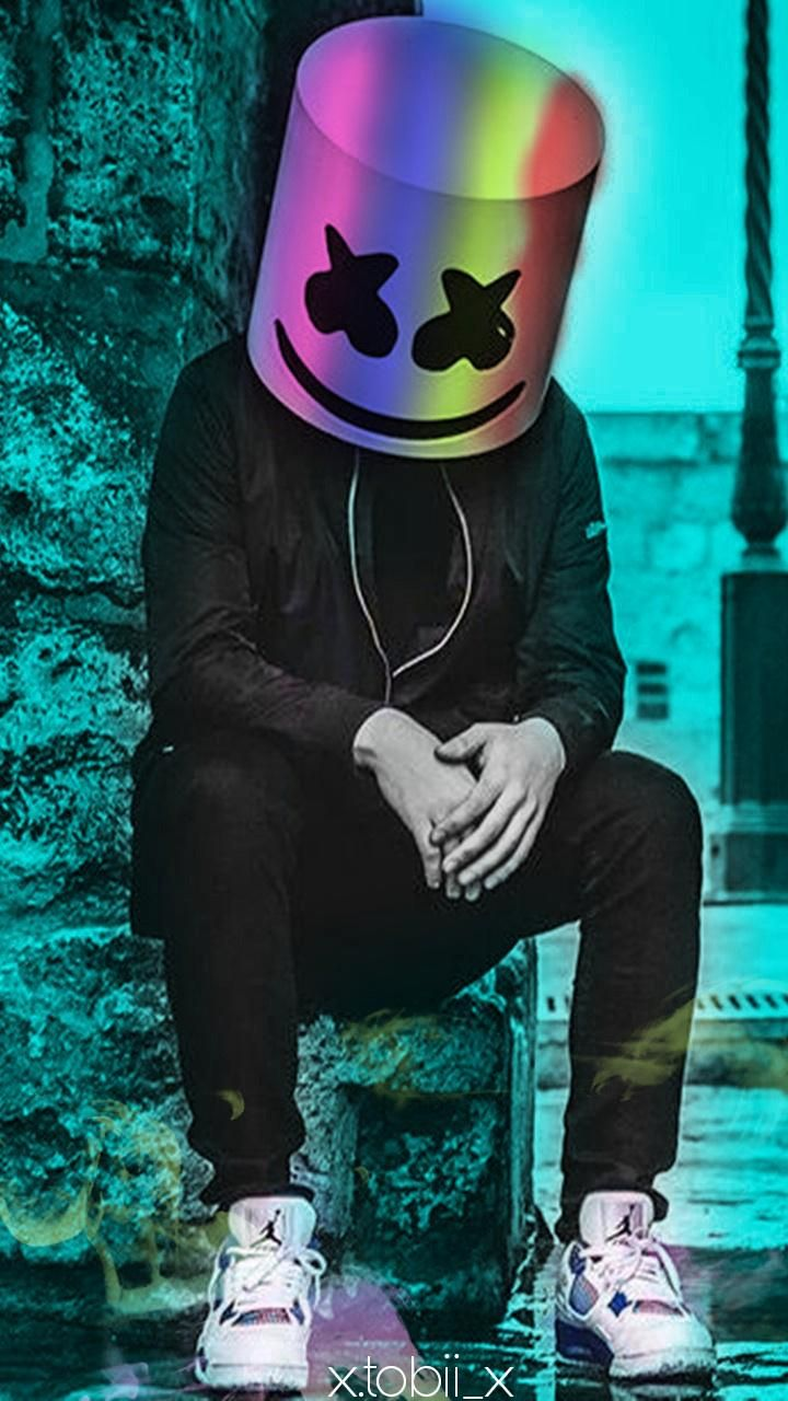 Download Marshmello colors Wallpaper by Tobiii7w7 75