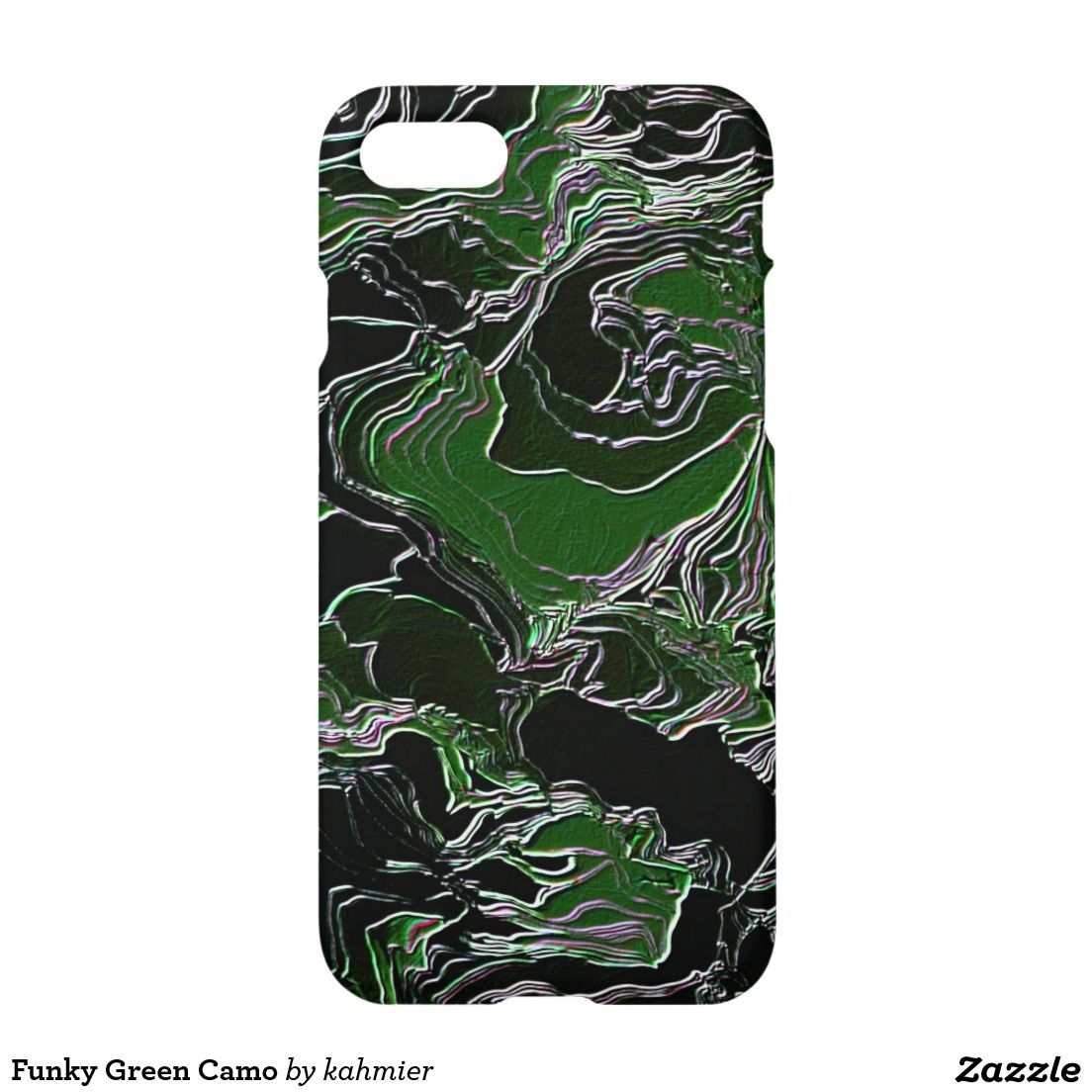 Funky green camo iphone 7 case 30 off with code