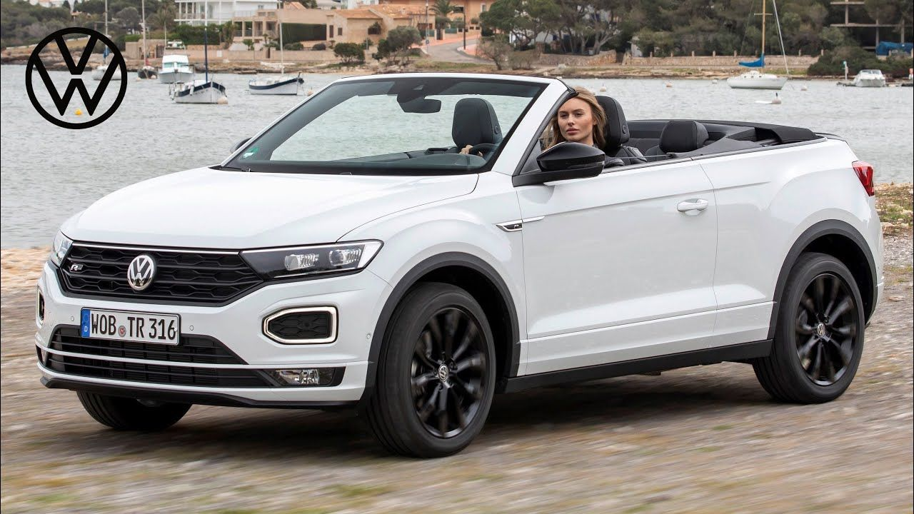 2021 Vw T Roc Cabriolet In 2020 Volkswagen Cabriolets Gasoline Engine