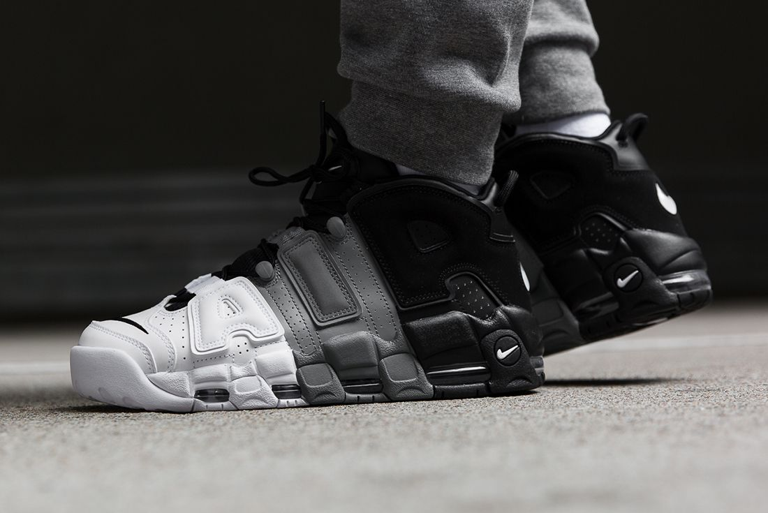 4571056336 where to buy nike air more uptempo black white 9432c 09902; denmark take an  on foot look at nikes tricolor uptempotake an on foot look at nikes