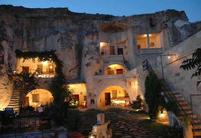 Gamirasu Hotel in Urgup - Turkey   10 Most Unusual and Unique Hotels of the World   See more inspirational images at http://www.delightfull.eu/en/inspirations/lifestyle/travel/10-most-unusual-and-unique-hotels-of-the-world/