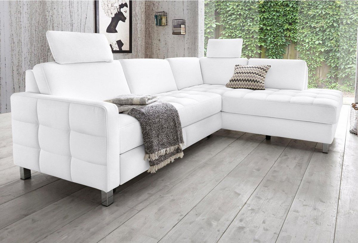 Ecksofa Wahlweise Mit Bettfunktion Yellow Sofa Sofa Couch