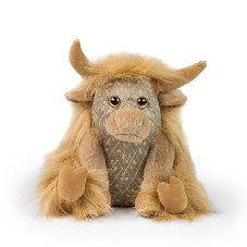 Angus Junior Highland Cow Scented Paperweight