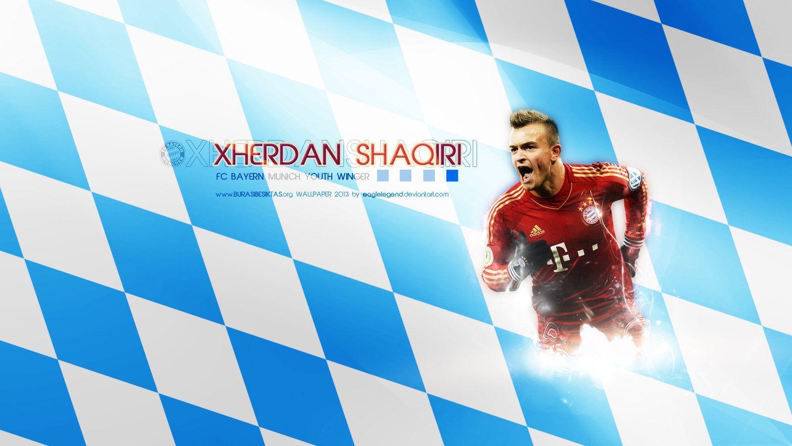 Xherdan Shaqiri Wallpaper By Eaglelegend.deviantart.com On