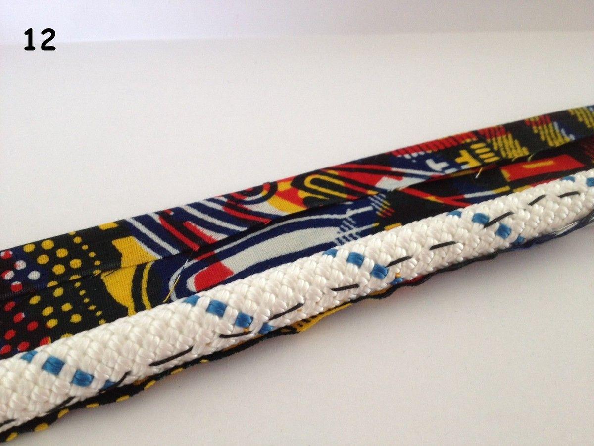 tuto collier en tissu wax avec balles rembourr es avec de la ouate pinteres. Black Bedroom Furniture Sets. Home Design Ideas
