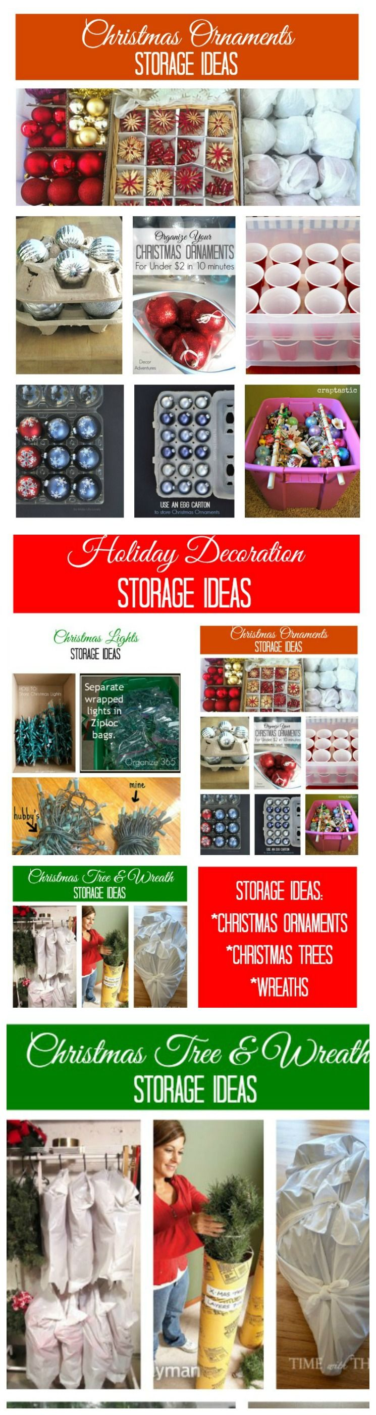 Holiday Decoration Storage Ideas Part - 31: The Best Holiday Storage Hacks Will Save Christmas | Plastic Cups, Ornament  And Cups