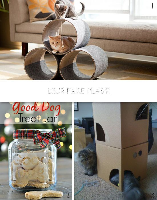0 diy pour les chats et les chiens animo pinterest les chien le chat et chats. Black Bedroom Furniture Sets. Home Design Ideas