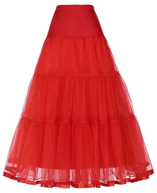 0fac41110f Tutu skirt navy blue silps swing rockabilly petticoat underskirt ...