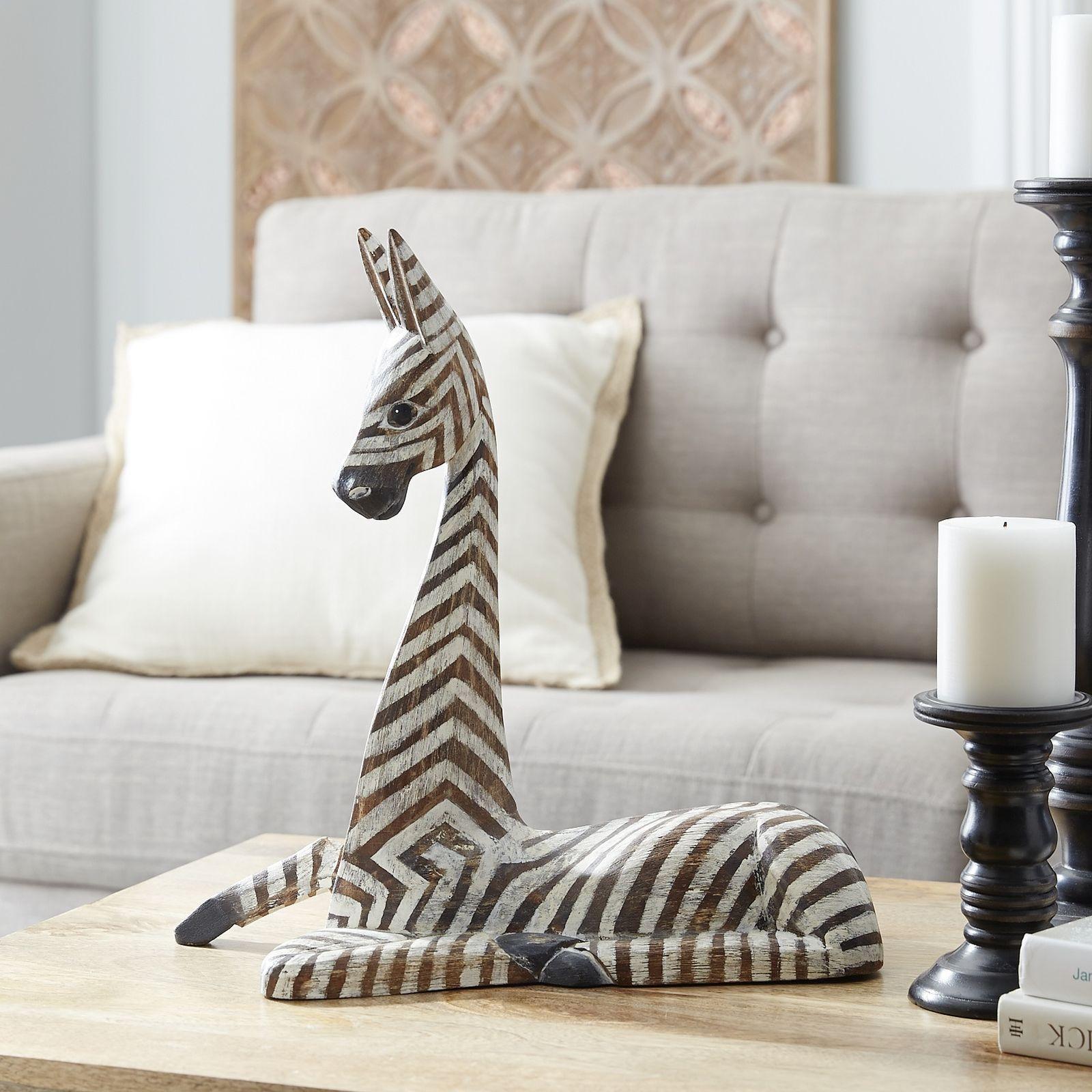 Wooden Sitting Zebra | Pier 1 Imports | Ideas para decorar ...