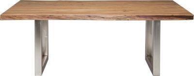 Der Esstisch Nature Line Besitzt Eine Tischplatte Aus Echtem Akazienholz Und Ist Ein Echter Hingucker Der Tisch Hat Die Masse Von Ca Design House Styles Home