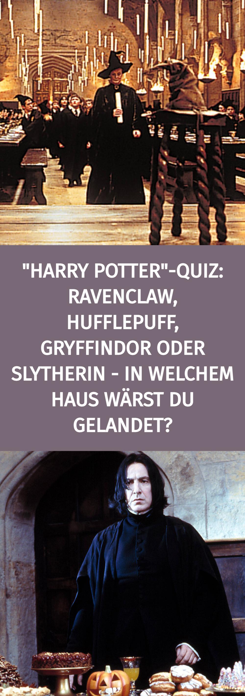 Harry Potter In Welchem Haus Warst Du Wohl Gelandet Wenn Du Nach Hogwarts Gegangen Warst Ravenclaw Hufflepuff Gry In 2021 Gryffindor Ravenclaw Harry Potter Quiz