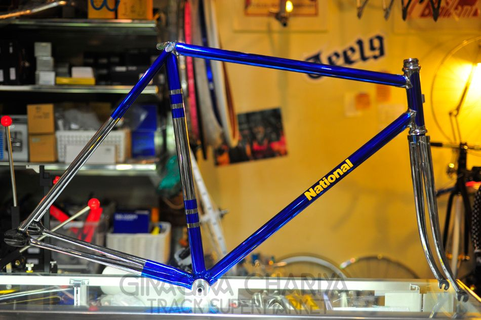 NATIONAL NJS Keirin Track Frame 53cm... Drool! | Bike Stuff ...