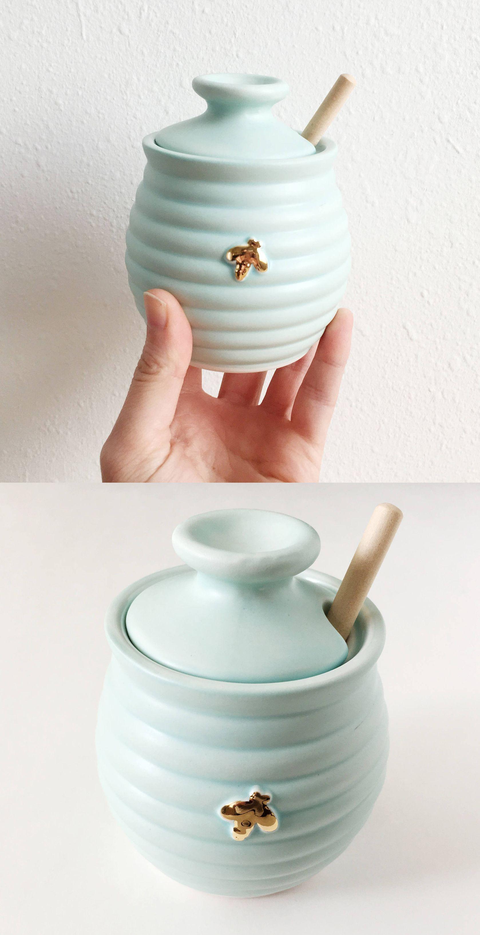 Honeybee Honeypot By Pottery Lodge Aesthetic Pinterest  # Muebles Novella