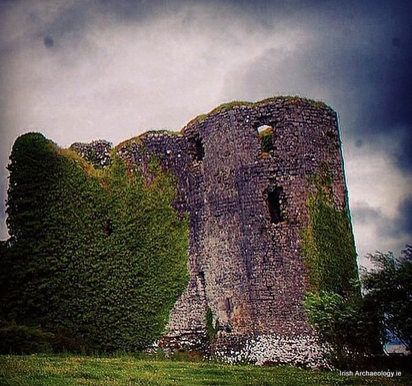 Ballintober Castle, Co. Roscommon, a fortress of the O'Connor kings of Connacht