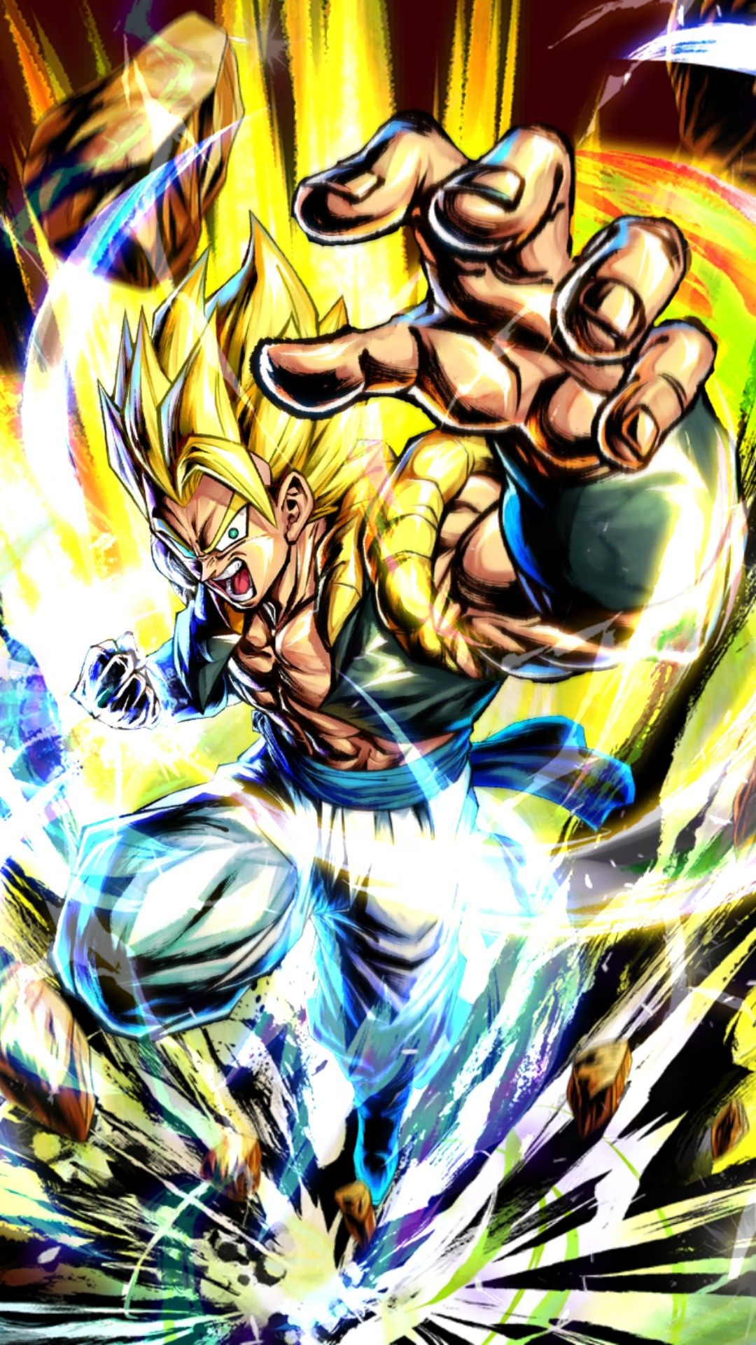 Dragon Ball Legends Gogeta SSJ Super Saiyan