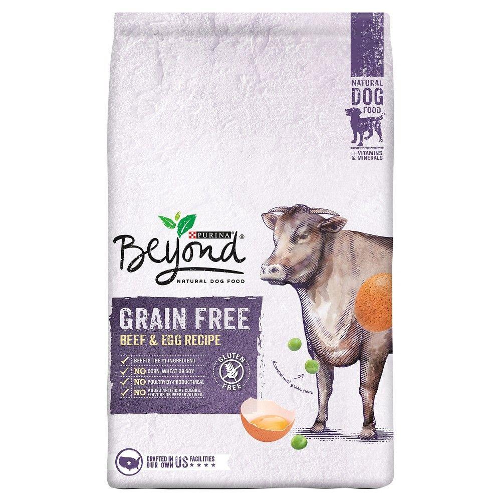 Purina Beyond Grain Free Beef And Egg Dry Dog Food 3lb Bag Dry