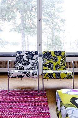 Ikea Furniture Designers Guild Mimo Miami Modern Fabric