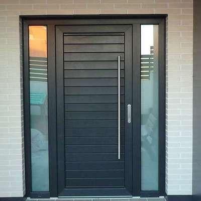Puertas a medida puertas pinterest hall doors and woods for Puertas metalicas modelos