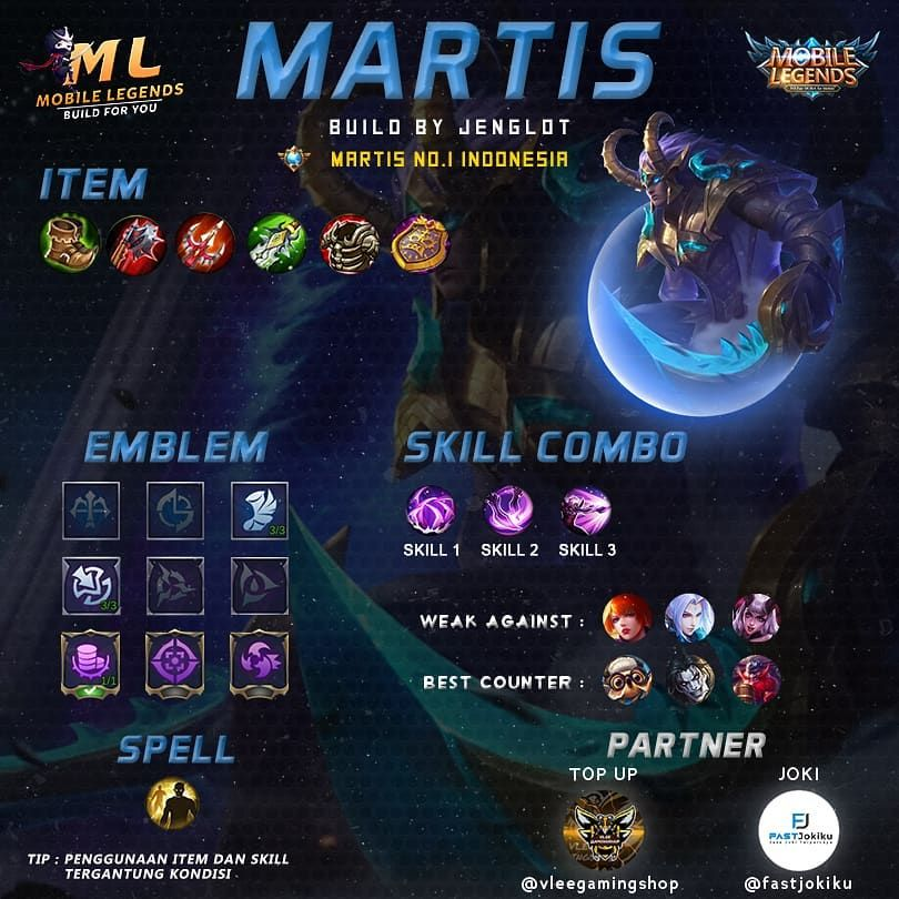 651 Likes, 8 Comments Mobile Legends Build For You