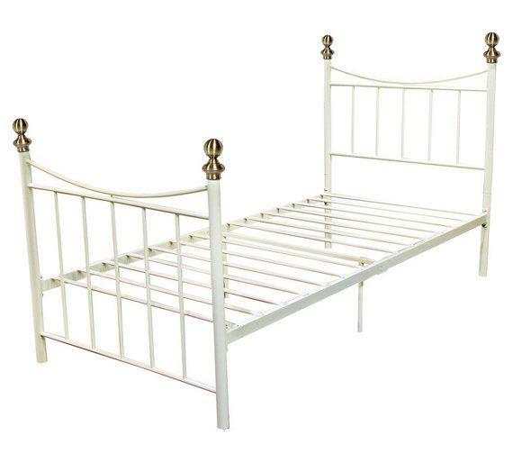 Style Alderberry Single Bed Frame, White Bedroom Furniture Sets Argos