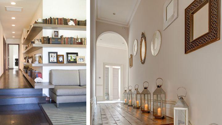 8-ideas-para-decorar-pasillos-estrechos decoracion pasillos