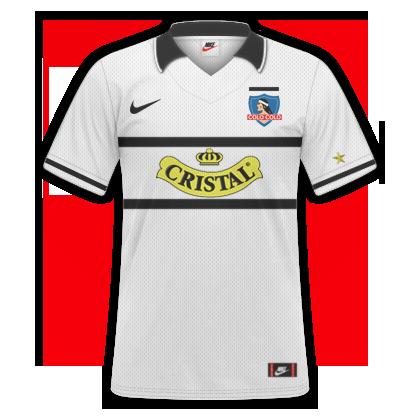 Camiseta Retro - Colo Colo 96   c4ac771eea957