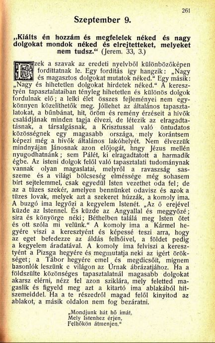09.09. Spurgeon: Harmatgyöngyök...