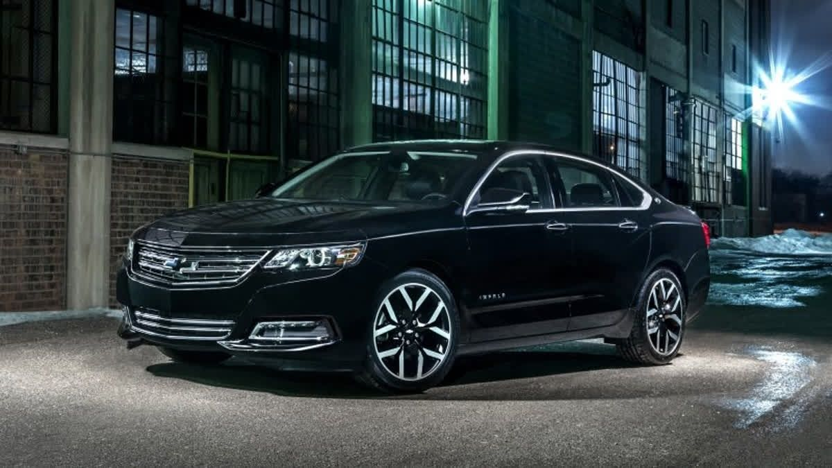 The Chevrolet Impala Has Amenities You Would Expect In A Luxury
