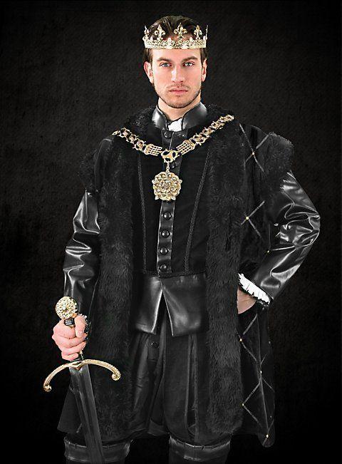 RAGAZZI TUDOR MEDIEVALE RE PRINCIPE Costume