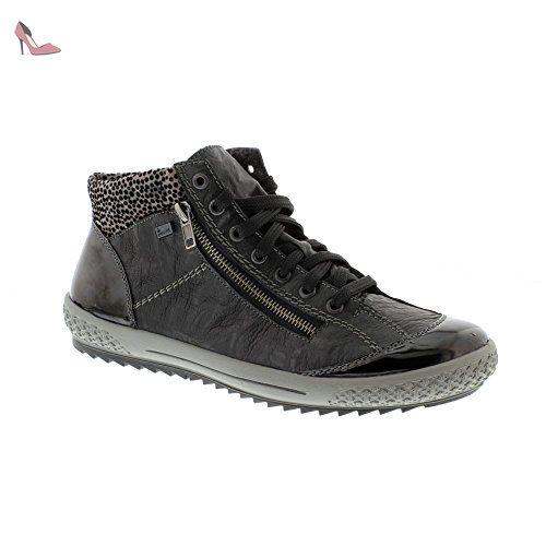 M6143 01 Schwarz Chaussures rieker (*Partner Link