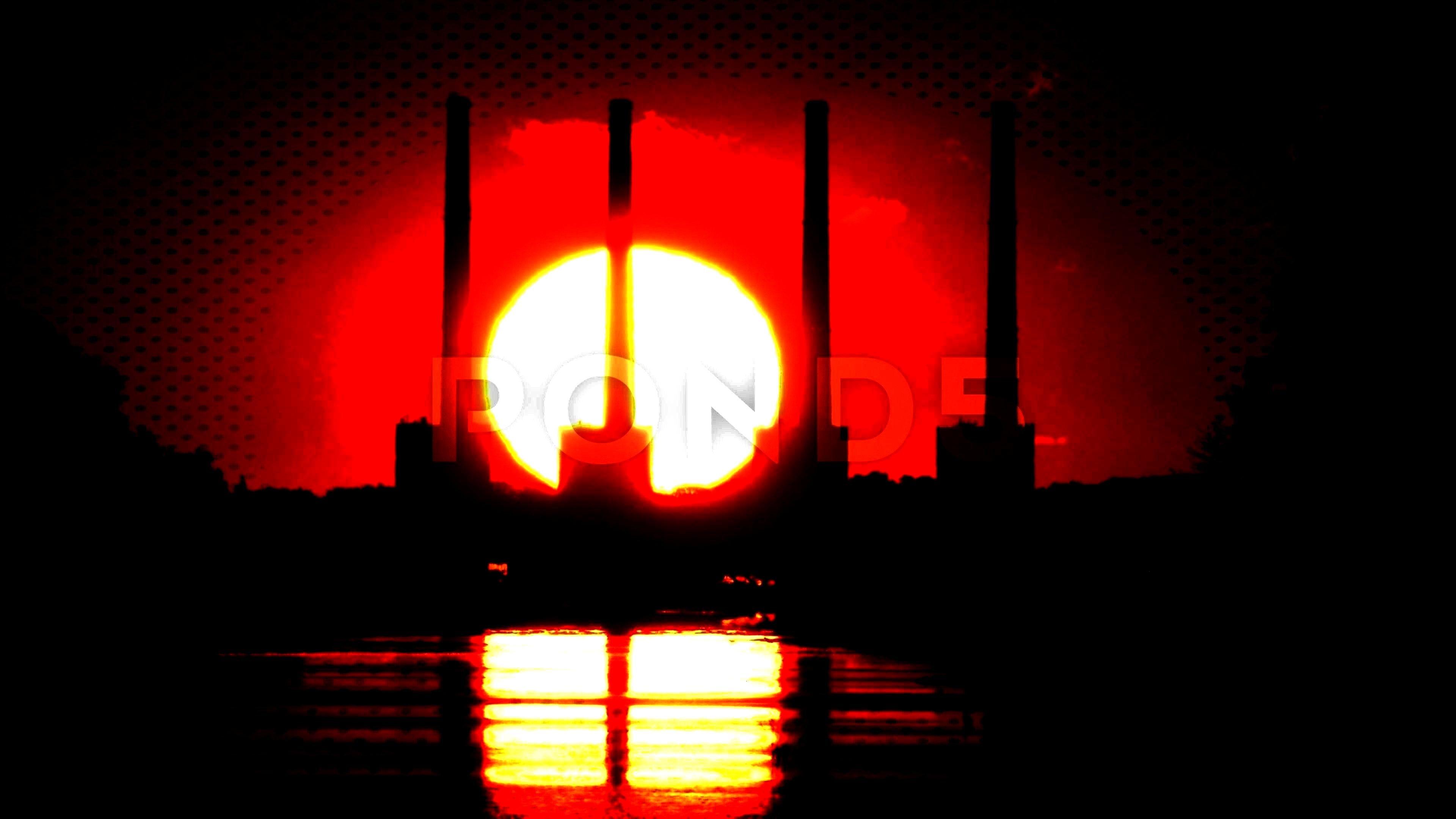 ,#smoke#Sunrises#stacks#FootageSunrises behind smoke stacks. Stock Footage ,#smoke#Sunrises#stacks#