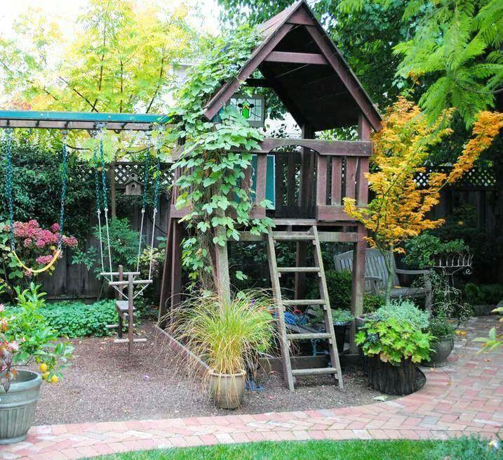 Amazing | Want! | Backyard, Backyard playground, Garden