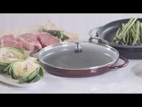Staub Steam Grill 12 Grill Pan Recipes Pan Recipes Healthy Grilling