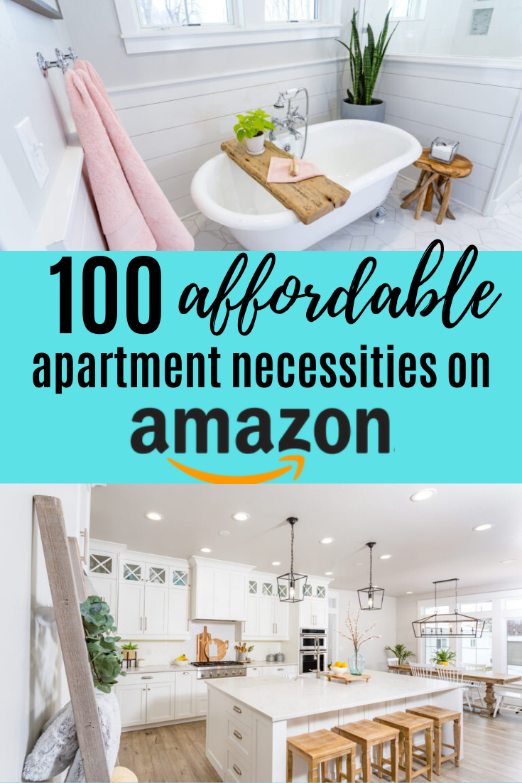 The best apartment decor for when you are on a budget. The best finds for you first rental for a cozy space, create lots of storage in your small apartment with these amazing budget finds on amazon! #apartment #rental #amazon #budgetdecor