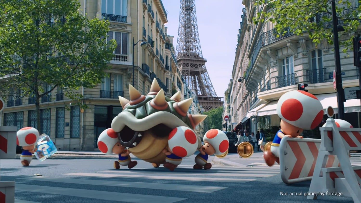 Mario Kart Tour Next Construction Trailer Toads In Paris General News Nintendoreporters Mario Kart Mario Mario Kart Characters