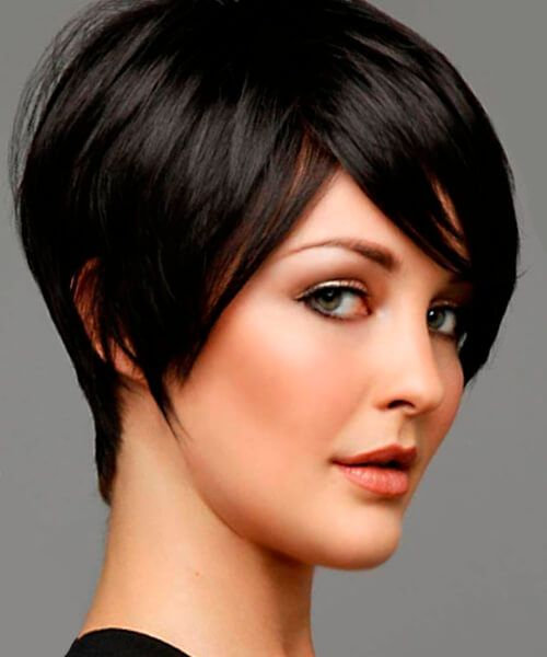 The Right Hairstyles For Long Oval And Square Shaped Faces With Images Short Hairstyles For Thick Hair Long Face Hairstyles Thick Hair Styles