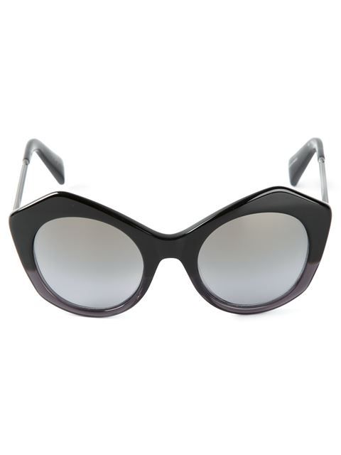 1c30bf7eb1e Shop Yohji Yamamoto geometric frames sunglasses in Monocle from the world s  best independent boutiques at farfetch.com. Over 1500 brands from 300  boutiques ...