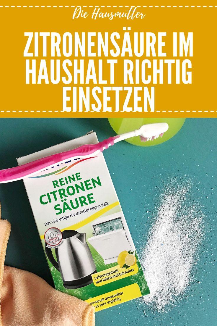 8 Putz Tricks Mit Zitronensaure Zitronensaure Citronensaure