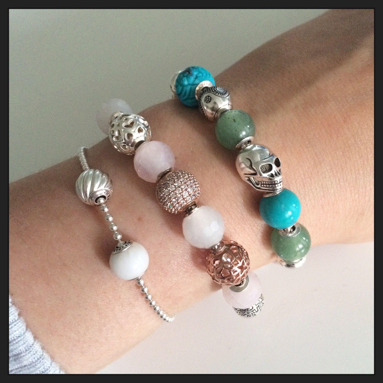 Karma Beads Bracelet Alert Bracelet